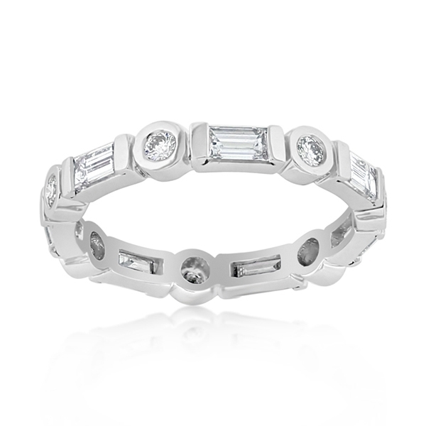 PENNY PREVILLE Diamond Eternity Band photo