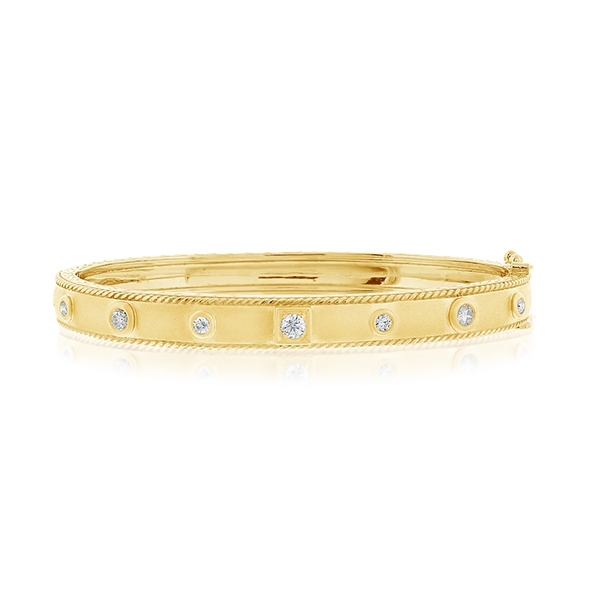 PENNY PREVILLE Diamond Stacking Bangle photo
