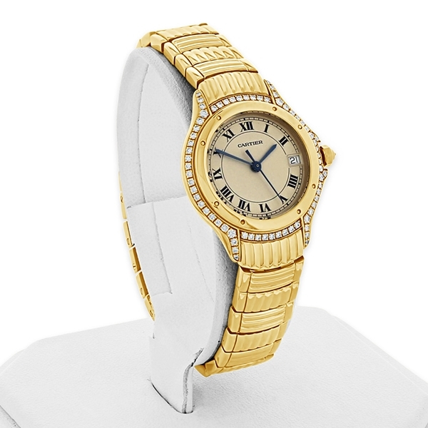 Pre-Owned Cartier Cougar Watch photo