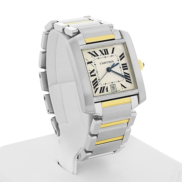 Pre-Owned Cartier Tank Francaise Large Watch photo