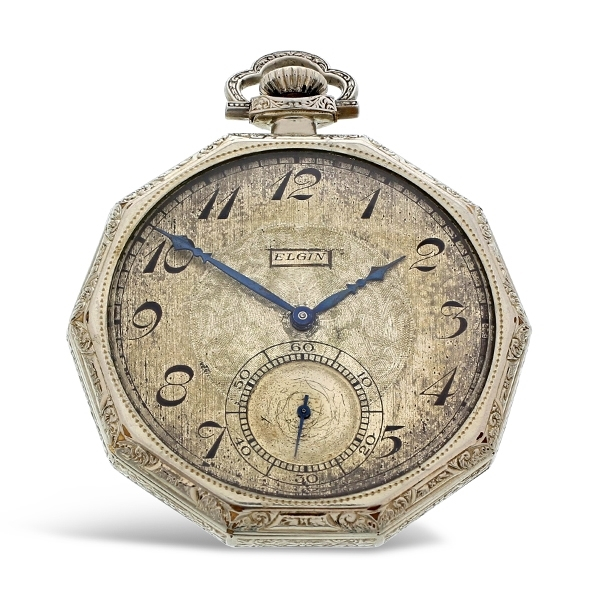 Pre-Owned Elgin Vintage Pocket Watch photo