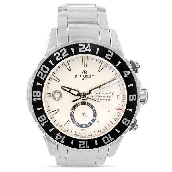Pre-Owned Perrelet Seacraft GMT Watch photo