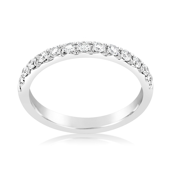 PRECISION SET New Aire Diamond Wedding Band photo