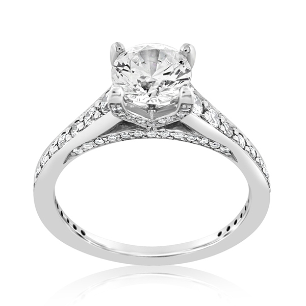 RITANI Modern Diamond Engagement Ring photo
