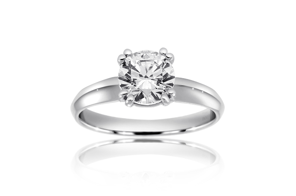 RITANI Tulip Solitaire Engagement Ring photo