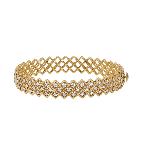 ROBERTO COIN Barocco Diamond Bangle photo