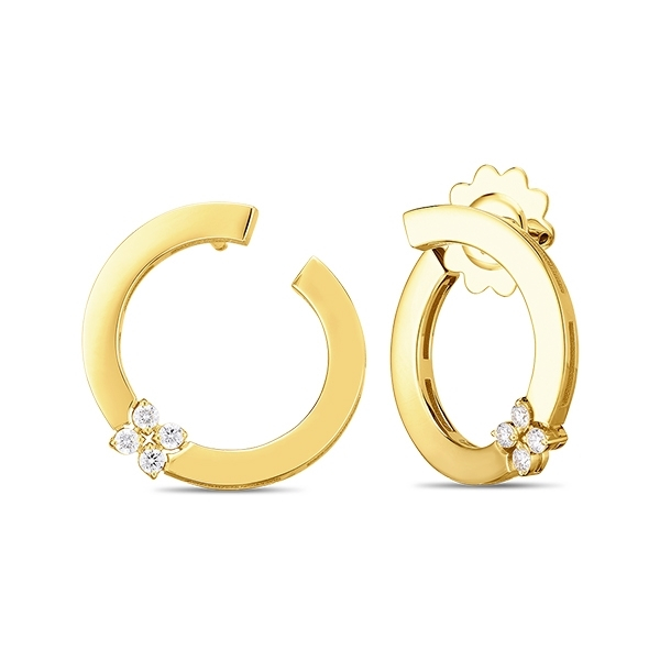 ROBERTO COIN Love in Verona Diamond Earrings photo