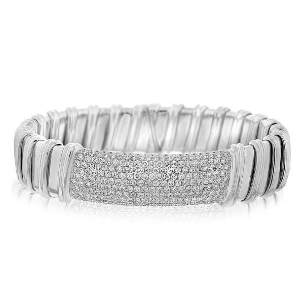 ROBERTO COIN Nabucco Diamond Bangle photo