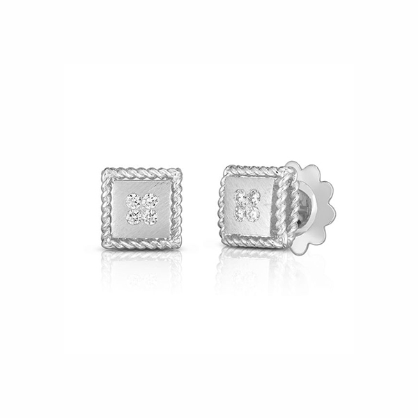ROBERTO COIN Palazzo Ducale Diamond Earrings photo
