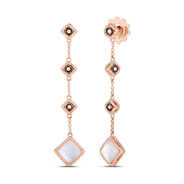 ROBERTO COIN Palazzo Ducale Two Drop Earrings photo