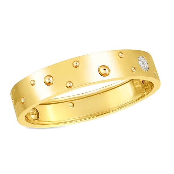 ROBERTO COIN Pois Moi Luna Diamond Bangle photo