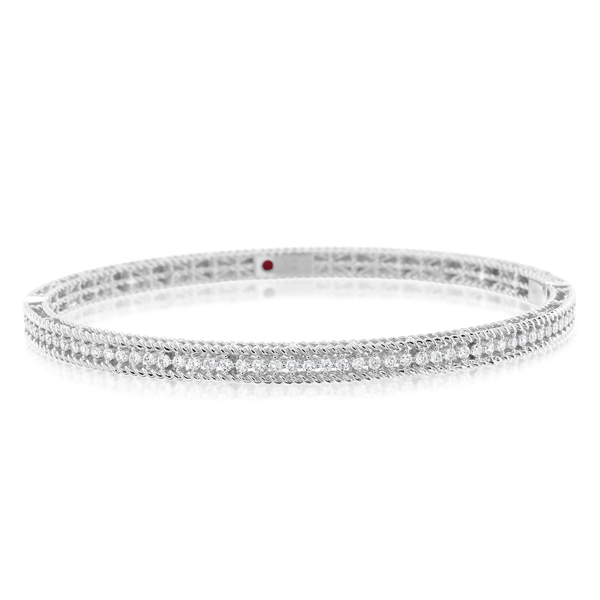 ROBERTO COIN Symphony Braided Diamond Bangle photo