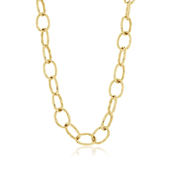 ROBERTO COIN Textured Link Necklace photo