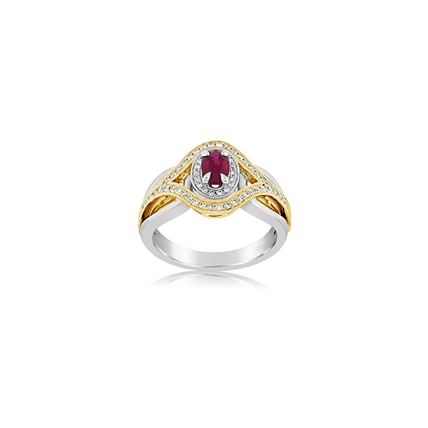 Ruby & Diamond Ring photo