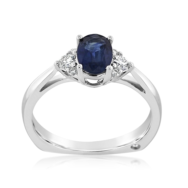 Sapphire & Diamond Ring photo