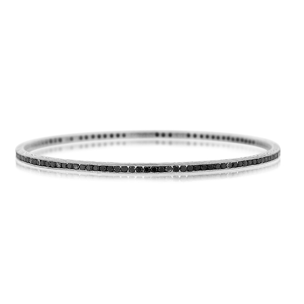 SETHI COUTURE Black Diamond Bangle photo