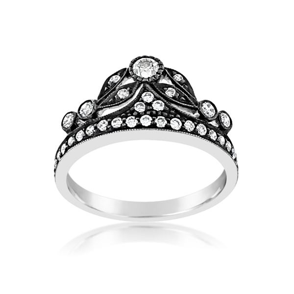 SETHI COUTURE Diamond Crown Ring photo
