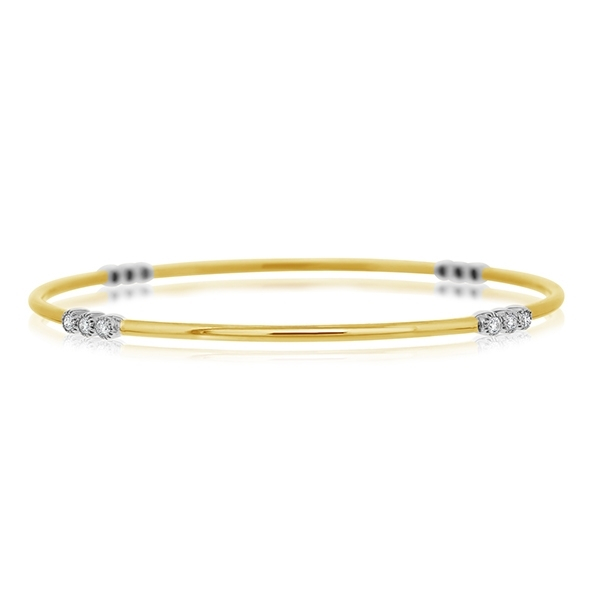SETHI COUTURE Diamond Station Bangle photo