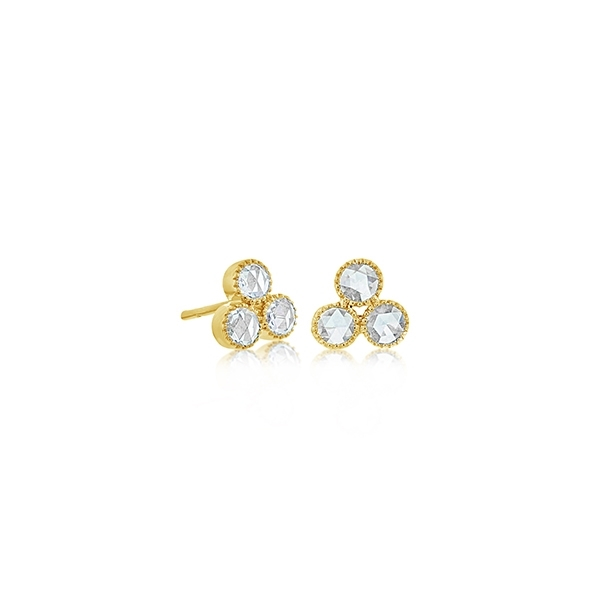 SETHI COUTURE Diamond Trio Studs photo