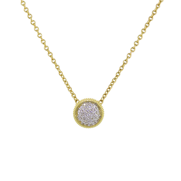 SLOANE STREET Diamond Strie Necklace photo