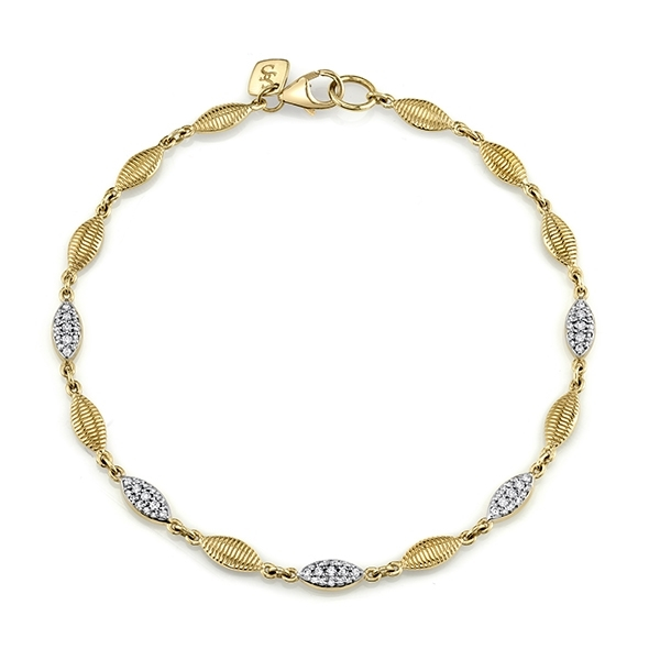 SLOANE STREET Strie Diamond Bracelet photo