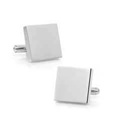 Stainless Steel Square Cufflinks  photo