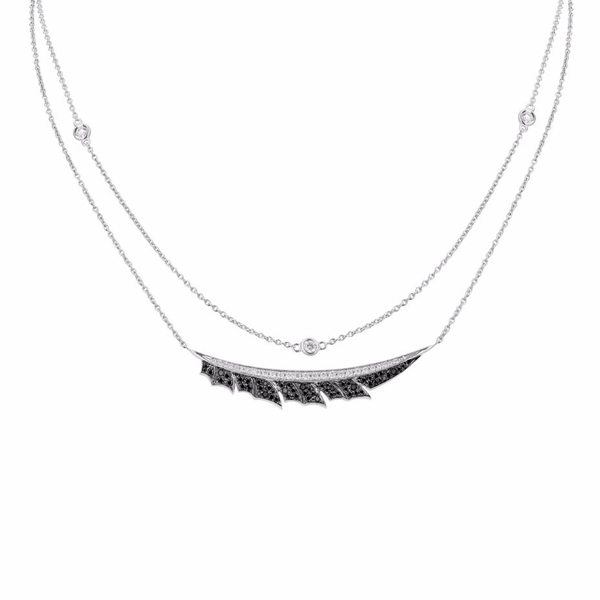 STEPHEN WEBSTER Magnipheasant Feather Necklace photo