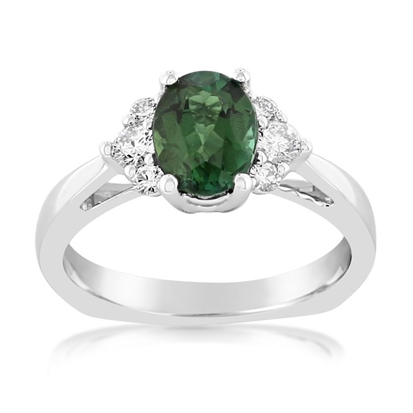 Tourmaline & Diamond Ring photo