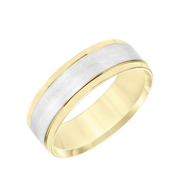 Two tone Wedding Band photo