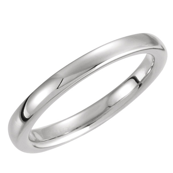 White Gold Wedding Band photo