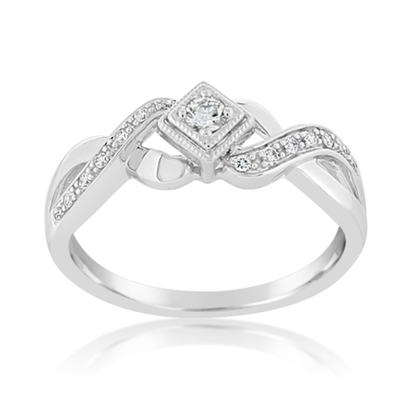 Woven Diamond Ring photo