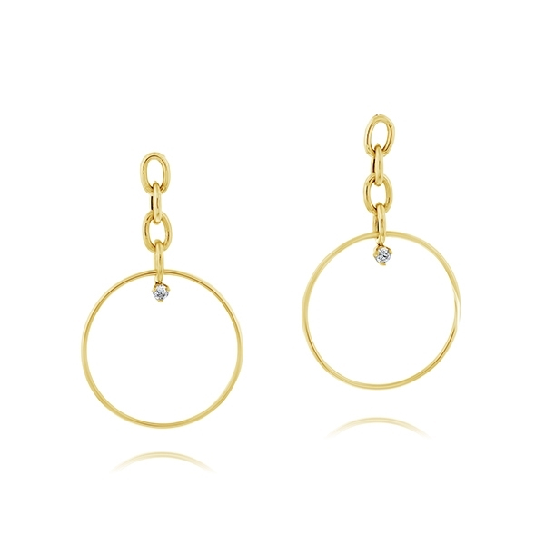 ZOE CHICCO Circle Earrings photo