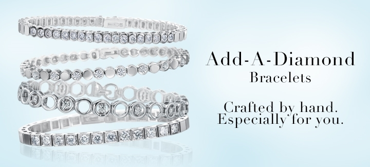 add a diamond bracelets