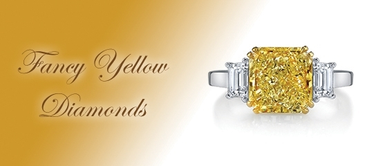 FANCY YELLOW DIAMOND COLLECTION