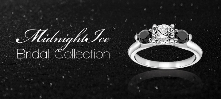 midnight ice bridal collection